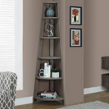 Corner Bookcase Corner Bookcases You Ll Wayfair