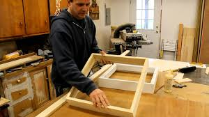 art woodworking how to make a wood picture frame with french cleat