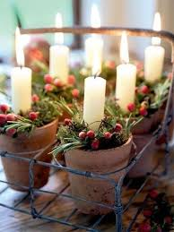 Rustic Christmas Centerpieces - rustic christmas centerpiece with a vintage milk crate smal