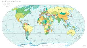map of erth map in earth major tourist attractions maps the world