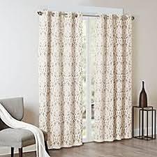 Geometric Burnout Shower Curtain Tan Geometric Burnout Shower Curtain Tan Threshold