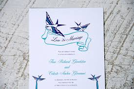 bird wedding invitations wedding invitations with birds more colors the modern