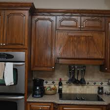 how to stain cabinets black walnut stained cabinets houzz