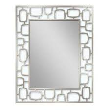 Stainless Steel Bathroom Mirror by Stainless Steel Bathroom Mirrors Bath The Home Depot
