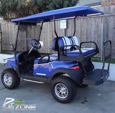 blue gcz phantom recon golf cart zone of austin