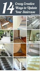 Staircase Update Ideas 22 Best Stairs Images On Pinterest Homes Basement Makeover And