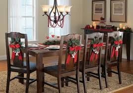 christmas dining room decorations dining room chairs decorated for christmas dining room decor ideas