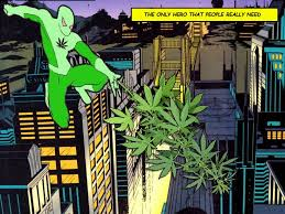 Green Man Meme - marijuana spiderman super hero weed comics memes