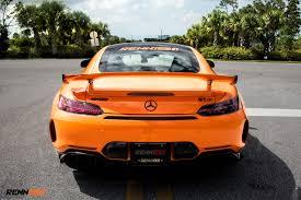 orange mercedes renntech u0027s mercedes amg gt r is unleashed with 761hp