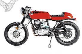 Pod Garage by Sr250 Cafe Racer Lunacy Garage Project Motorcycles Bikermetric