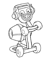 42 bob builder colouring pages images