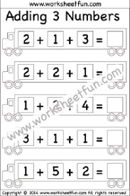 addition u2013 adding 3 numbers free printable worksheets u2013 worksheetfun