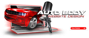 auto body website design turnkey body shop