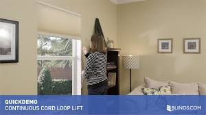 continuous cord loop lift for cellular shades quickdemo u0026raquo