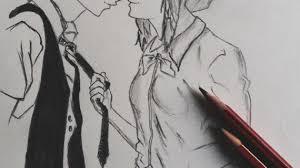 romantic couple pencil sketches cute love drawings pencil art hd