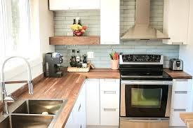 dessus de comptoir de cuisine pas cher comptoir bois cuisine cuisine espace bois au design moderne avec