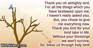 thanksgiving prayers