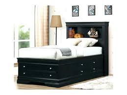 Black King Size Platform Bed Bookcase Prepac Mates King Platform Storage Bed Bookcase