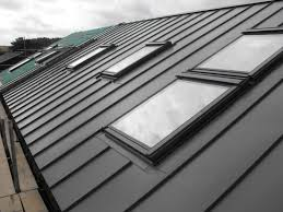 Insulation Blanket Under Metal Roof by Metal Roof With Velux Window Home Exteriors Pinterest Metal