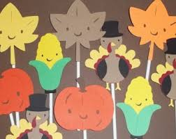 harvest decorations 12 woodland animal cupcake toppers cake decorations