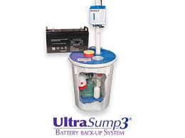 Basement Pump Up System by Ultrasump Battery Backup Sump Pump System