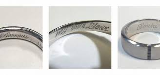 ring engravings the best ring engravings for a personal touch hart s