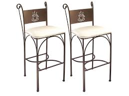tabourets hauts de cuisine charmant table cuisine conforama 10 lot de 2 tabourets de bar