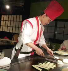 japanese restaurant cook at table benihana chef cooking at table review hd video japanese menu