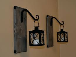 Lantern Wall Sconce Plug In Wall Sconces At Target Med Art Home Design Posters