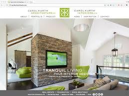 architect website design carol kurth architects website design wyman projects graphic