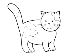 17 images favorite cat colouring pages
