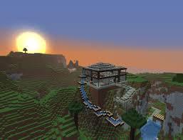 modern cliffside home minecraft project
