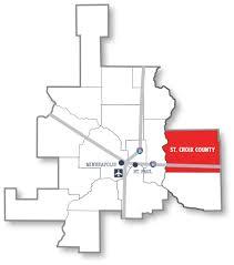 St Croix Map St Croix Economic Development Corporation Hudson Wi