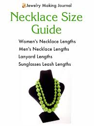 men necklace lengths images Necklace size chart jewelry making journal jpg