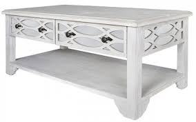 ash coffee table with drawers buy valeria washed ash and mirrored coffee table 2 drawer online