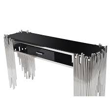 stainless steel console table stainless steel console table