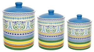 Canister Sets For Kitchen Ceramic 100 Ceramic Canisters Sets For The Kitchen Food Storage