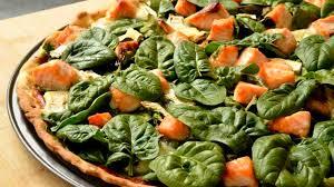 cuisine et santé pizza aux épinards saumon et chèvre ma cuisine santé recette