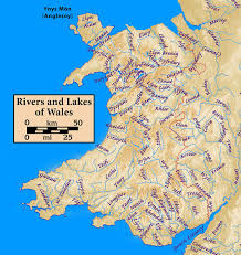 worlds rivers map list of rivers of wales