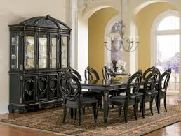 black dining room table set dining rooms decorative black dining room sets on black dining