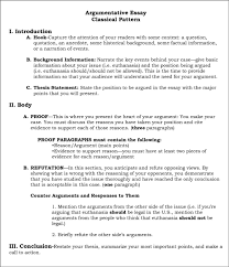 Example Of Thesis Statement For Argumentative Essay Introduction For An Argumentative Essay
