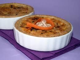 carvi cuisine recette petites quiches aux carottes surimi carvi cuisinez