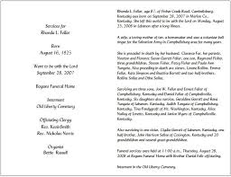 death obituary template obituary template for funeral in