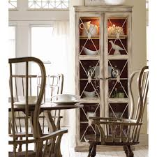 dining room curio cabinets hooker furniture sanctuary two door thin display curio cabinet