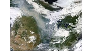 Canada Wildfire Satellite by Canadian Wildfires And Us Air Quality June 30 2015 Psaqfo