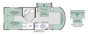 Multiplex Floor Plans by Floor Plans Siesta Sprinter 24st