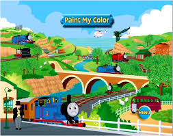 image thomas percyandthedragonandotherstoriespaintmycolorgame2