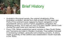 presentation on australia country history climate economy education i