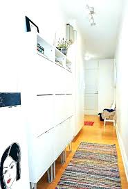 Hallway Shoe Storage Cabinet Hallway Shoe Storage Ideas Creative Shoe Storage Ideas For Small