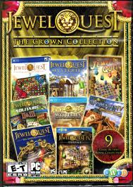 amazon com jewel quest the crown collection pc games video games